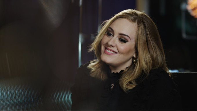 Happy birthday love of my life, Adele