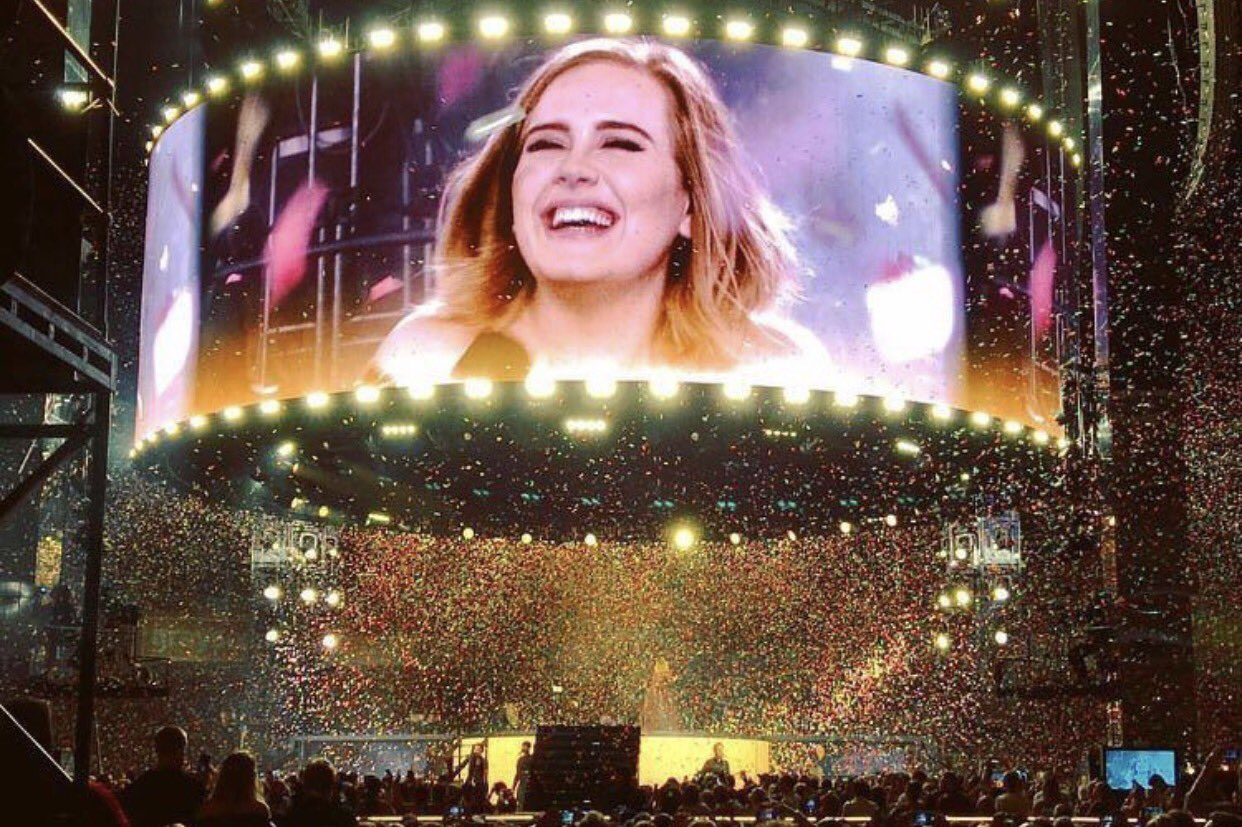 Happy birthday to my sweetie Adele! Love you forever! Hope you enjoy your birthday with your lovely family
