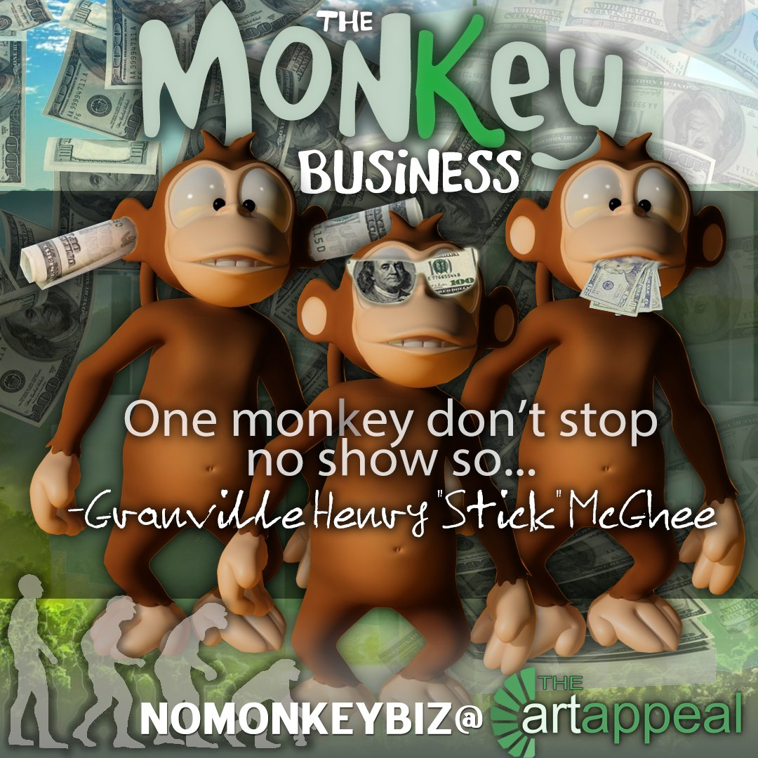 The Art Appeal On Twitter One Monkey Cant Stop No Show Soyour