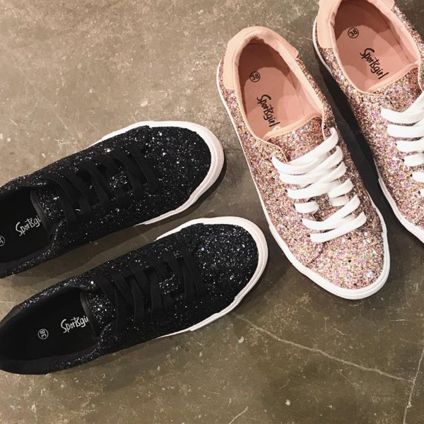 Mermaid Glitter Sneaker