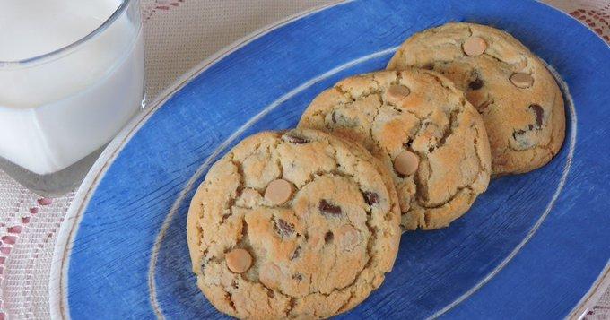 Sea Salt Caramel Chocolate Chip Cookies #FilltheCookieJar