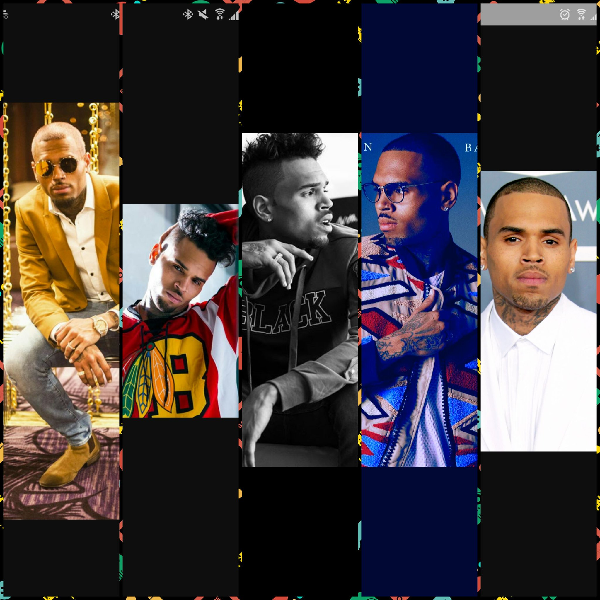 Happy birthday to the best artist out there, my idol, Chris Brown
