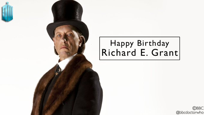 Happy birthday to Richard E Grant, who played the sinister Dr Simeon!