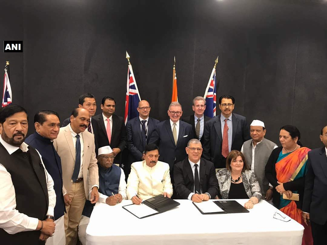 Maharashtra Agriculture Minister Pandurang Fundkar and other MLAs are on a study tour to Australia and Singapore