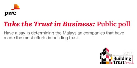 Can you trust today's businesses, really? Have your say by taking this poll https://t.co/T51v67CpON #pwcbta https://t.co/E1ZFVv44qv