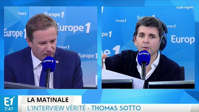 'C'est une campagne de propagande' Nicolas @DupontAignan #E1Matin