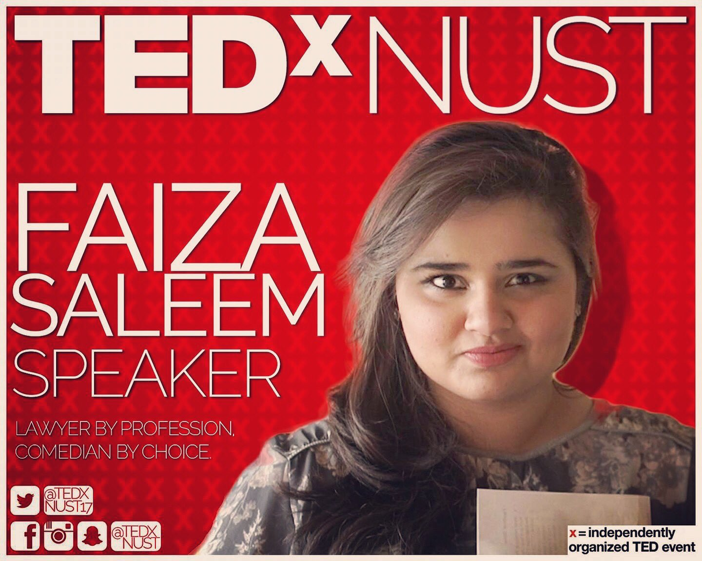 TEDxNUST challenging Norms - an Initiative by NUST students went amazingly well.