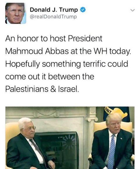 Deleted Trump tweet