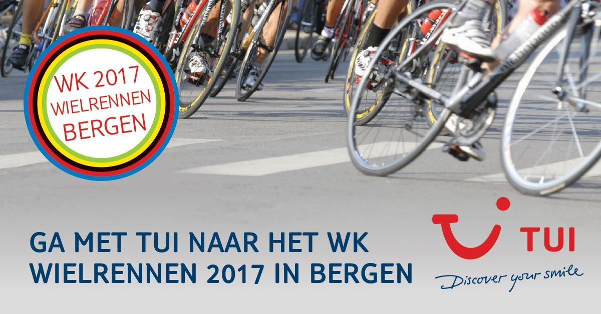 Sta je in de startblokken om het #WKwielrennen te volgen vanop de eerste rij? 🚴 TUI heeft 2 formules naar Bergen! https://www.tui.be/ZZC