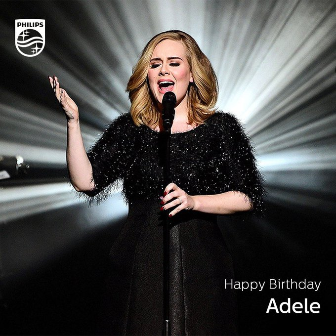 Wishing the Grammy Award winning singer, Adele a happy 29th birthday!