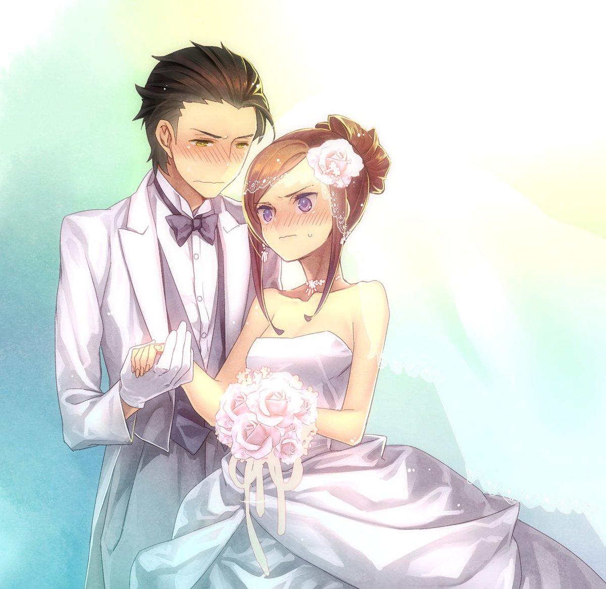 J LIST On Twitter One Of My Hobbies Is Finding Images Anime Characters Getting Married Which Your Favorite Couple Tco KBsVCbmGpa