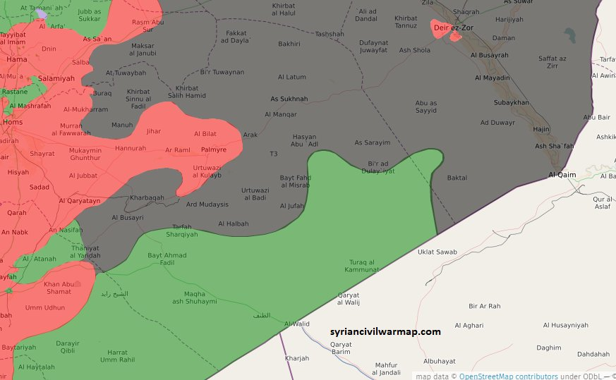 Syrian civil war map on twitter revolution commando maghwar al syrian civil war map on twitter revolution commando maghwar al thawra still in control of huge parts of syrian desert httpstcjwnuf1bwp gumiabroncs Choice Image