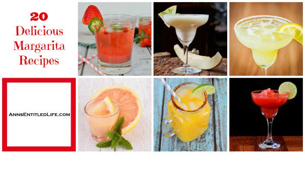 20 Delicious Margarita Recipes