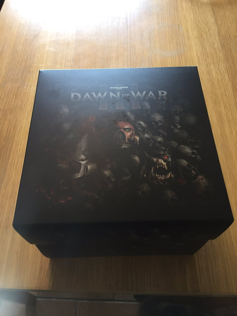 fb3127227093 Win this AWESOME  DawnOfWar 3 special edition box! Just RT   follow! winner  drawn at the end of sunday stream 8pmBST http   twitch.tv twoangrygamerstv  … ...