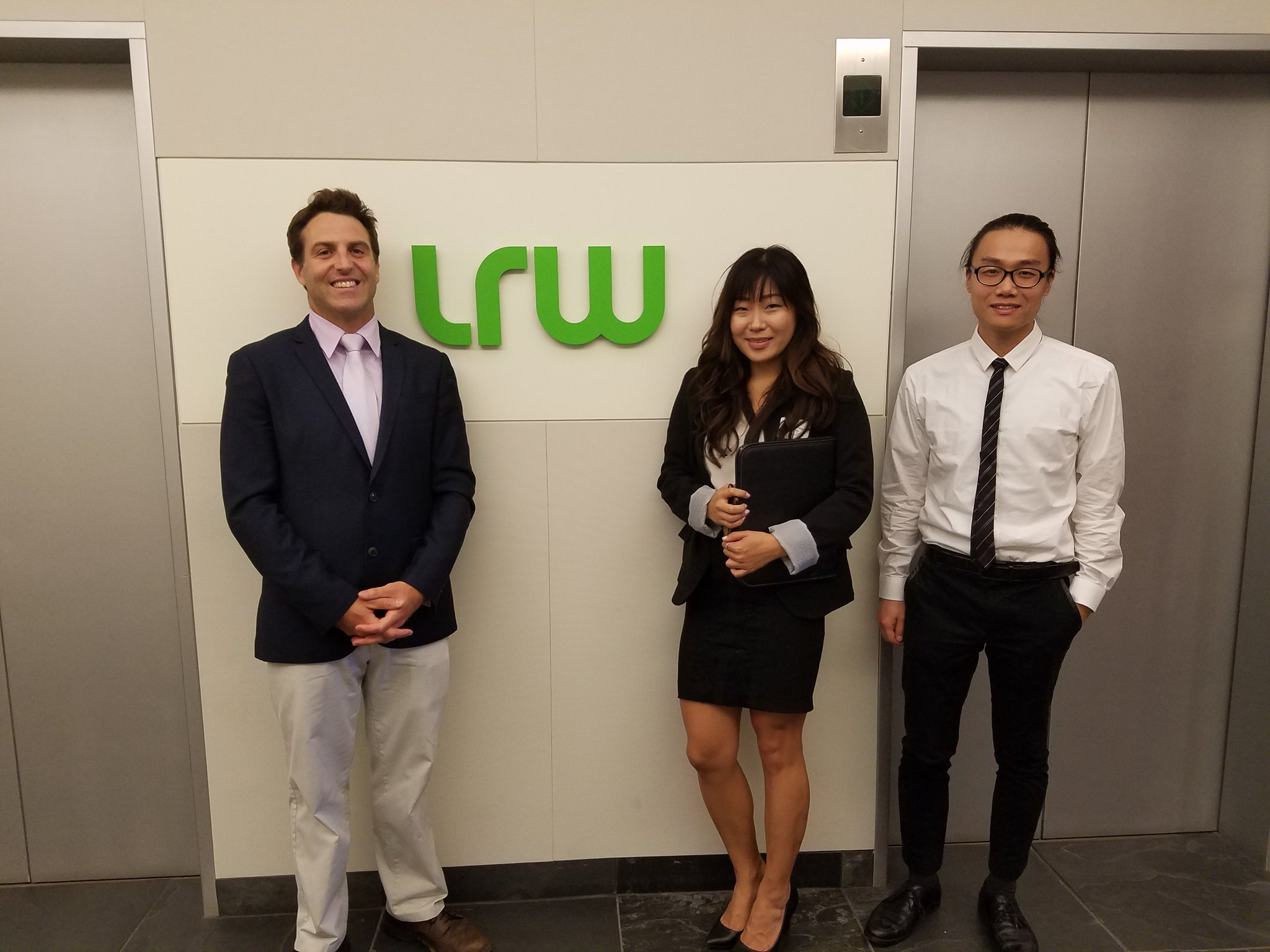 Also yesterday, students ventured to @LRWonline for a look into the private sector and to hash out careers related to research. https://t.co/PbSIEkpK8p