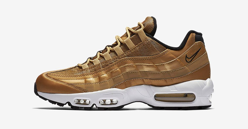 0ebbf7dbfc95 Nike s gold rush continues with the gleaming Air Max 95 and Air Max Zero