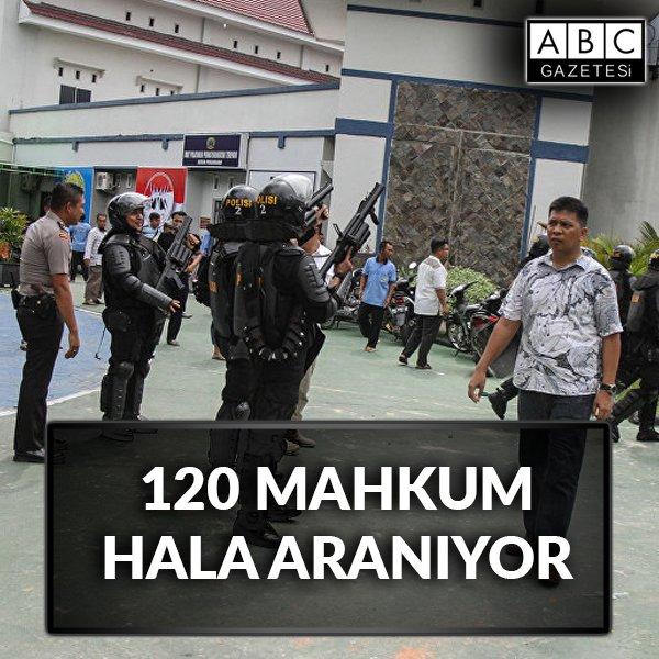 Cuma namazını fırsat bilen 200 mahkum, cezaevinden kaçtı