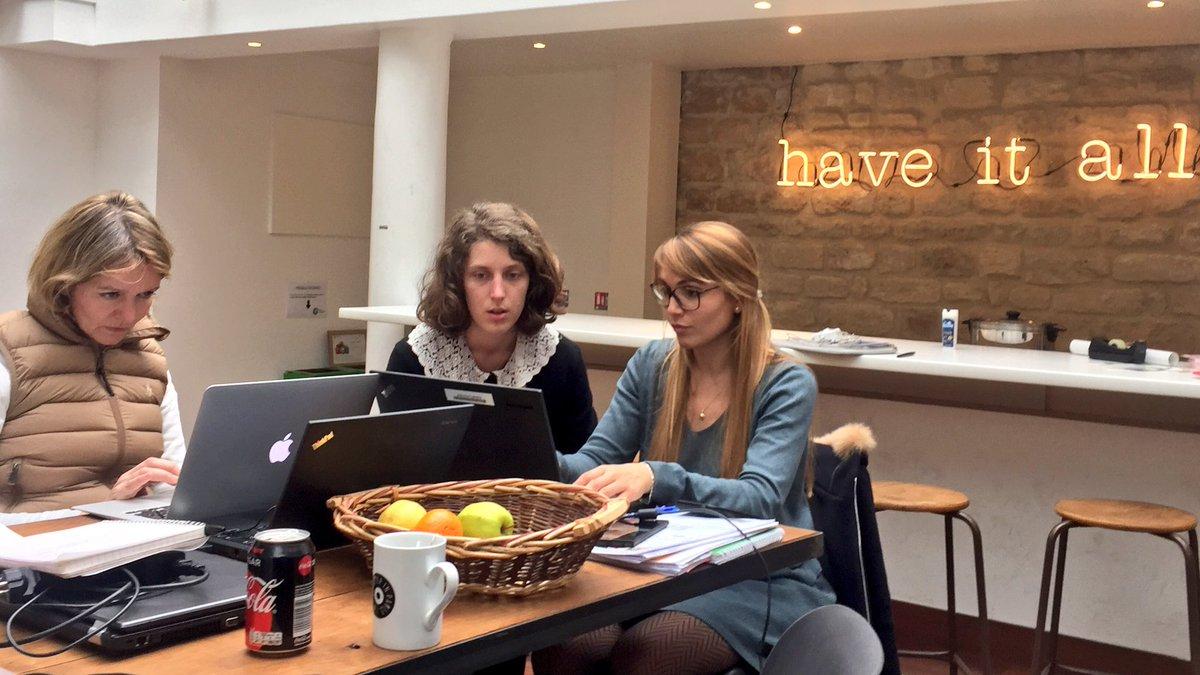 Cet après-midi, les intrapreneurEs de #66miles planchent pour préparer leur pitch en mode storytelling  pic.twitter.com/AWM3ZkOfvE