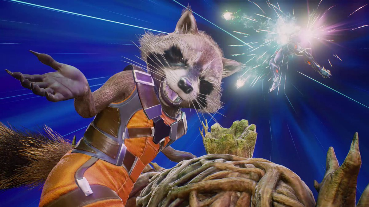 """""""Save some room for me!"""" - Rocket Raccoon who's confirmed for #MVCI, obviously. #GotGVol2 #ShamelessPlug #MovieTieIn https://t.co/bxklyq642G"""
