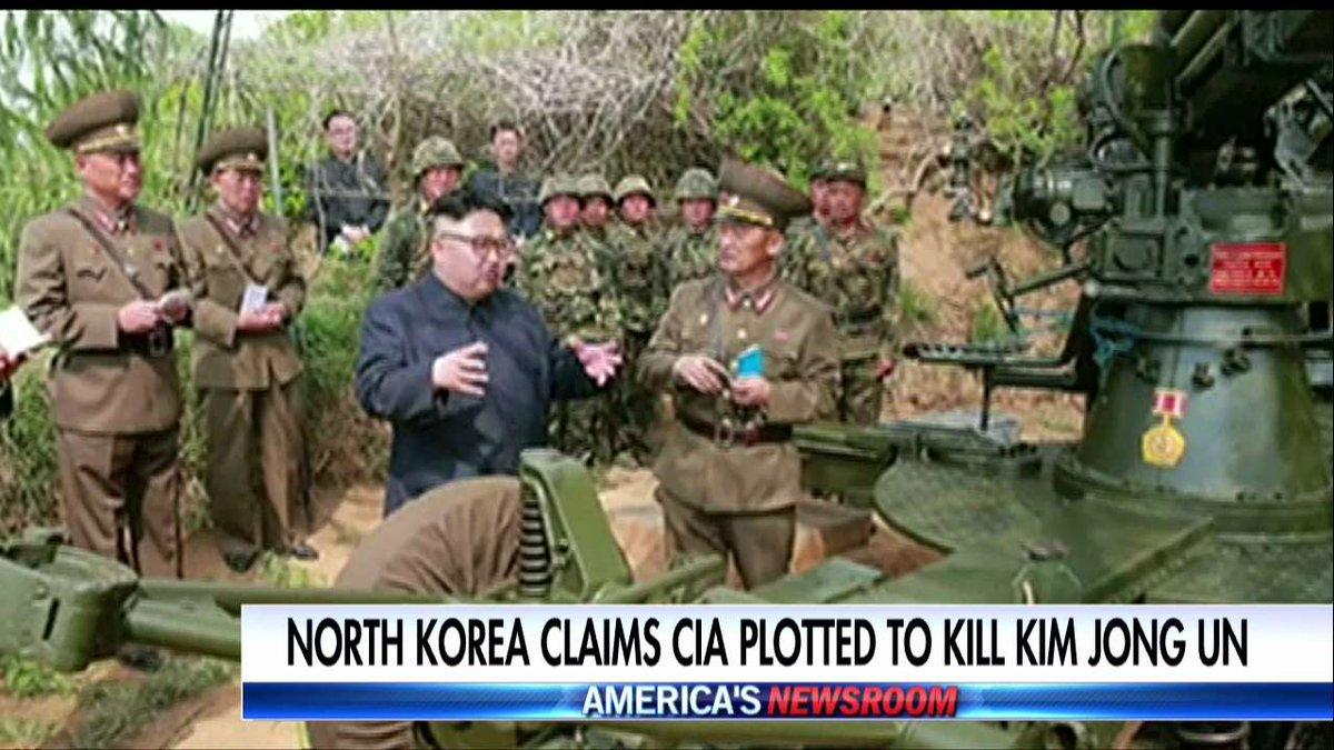 North korea claims cia plotted to kill kim jong-un ...