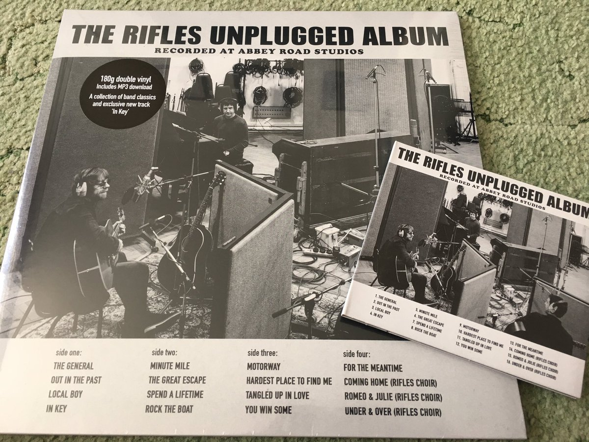 The Rifles Theriflesband Twitter