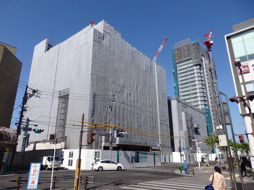 """高坂優希 on Twitter: """"駅の西側に移って豊田産業文化センター、通称産 ..."""