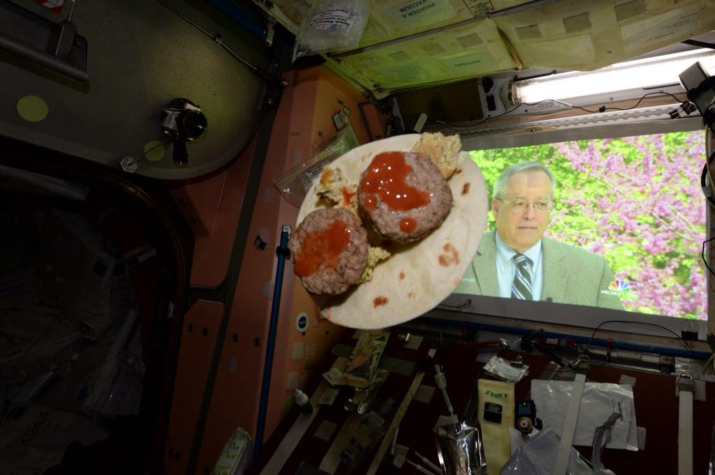 #FlashbackFriday My space taco w rehydrated eggs, sausage & hot sa...