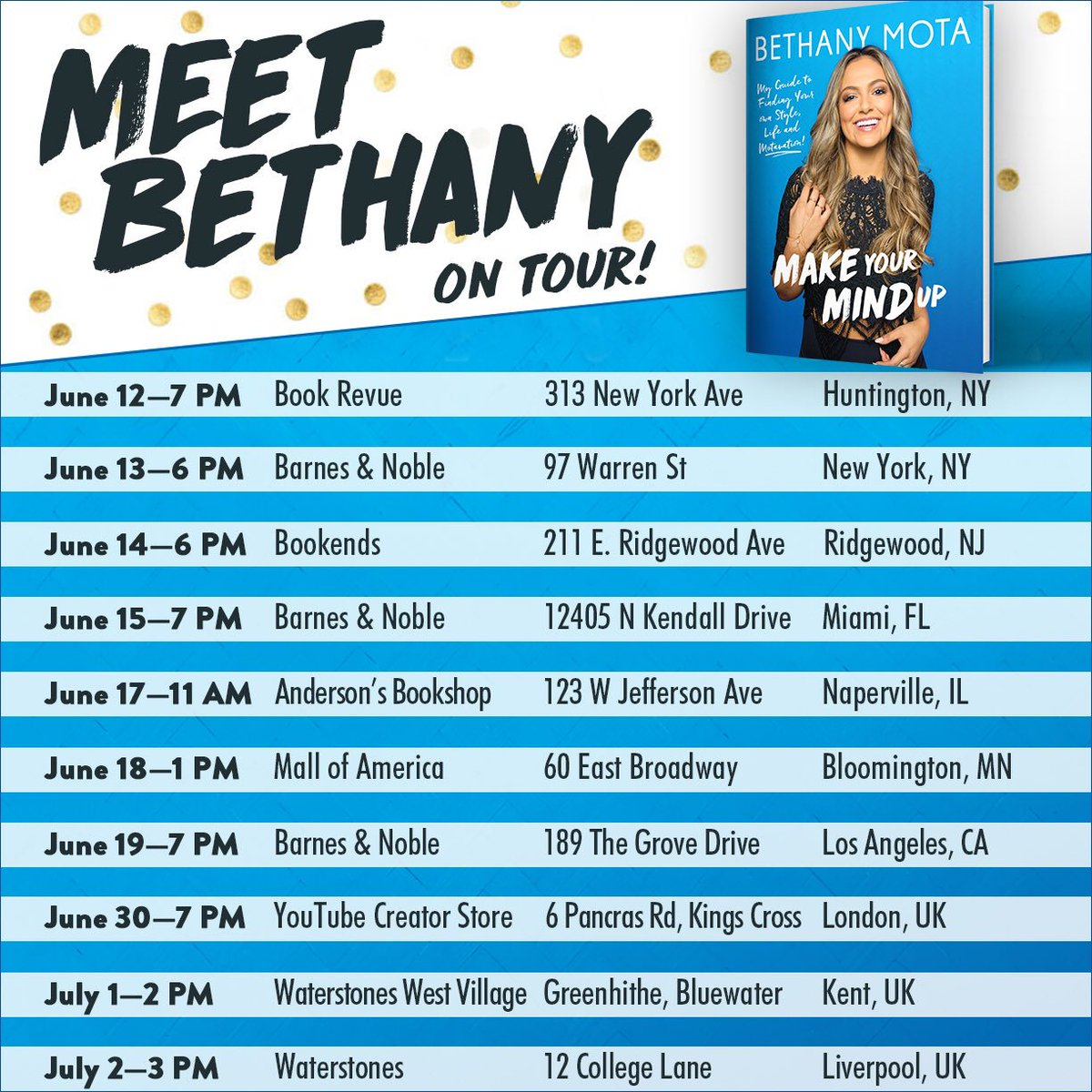 Bethany Mota On Twitter Its Happening Im Going On A Book