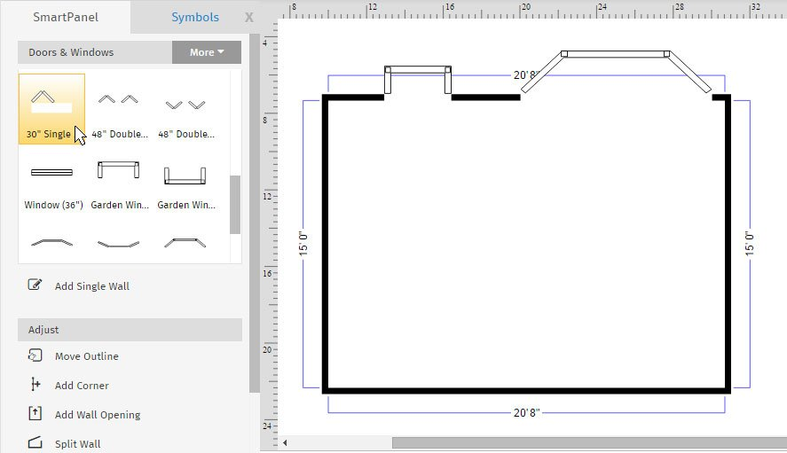 smartdraw on twitter see how easy it is to draw a floor plan to scale with smartdraw read and watch our floor plan tutorial httpstcospvmmurtua - Smartdraw Floor Plan Tutorial