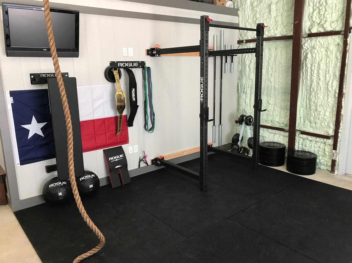 Rogue fitness garage gym courtesy of rob mulligan facebook