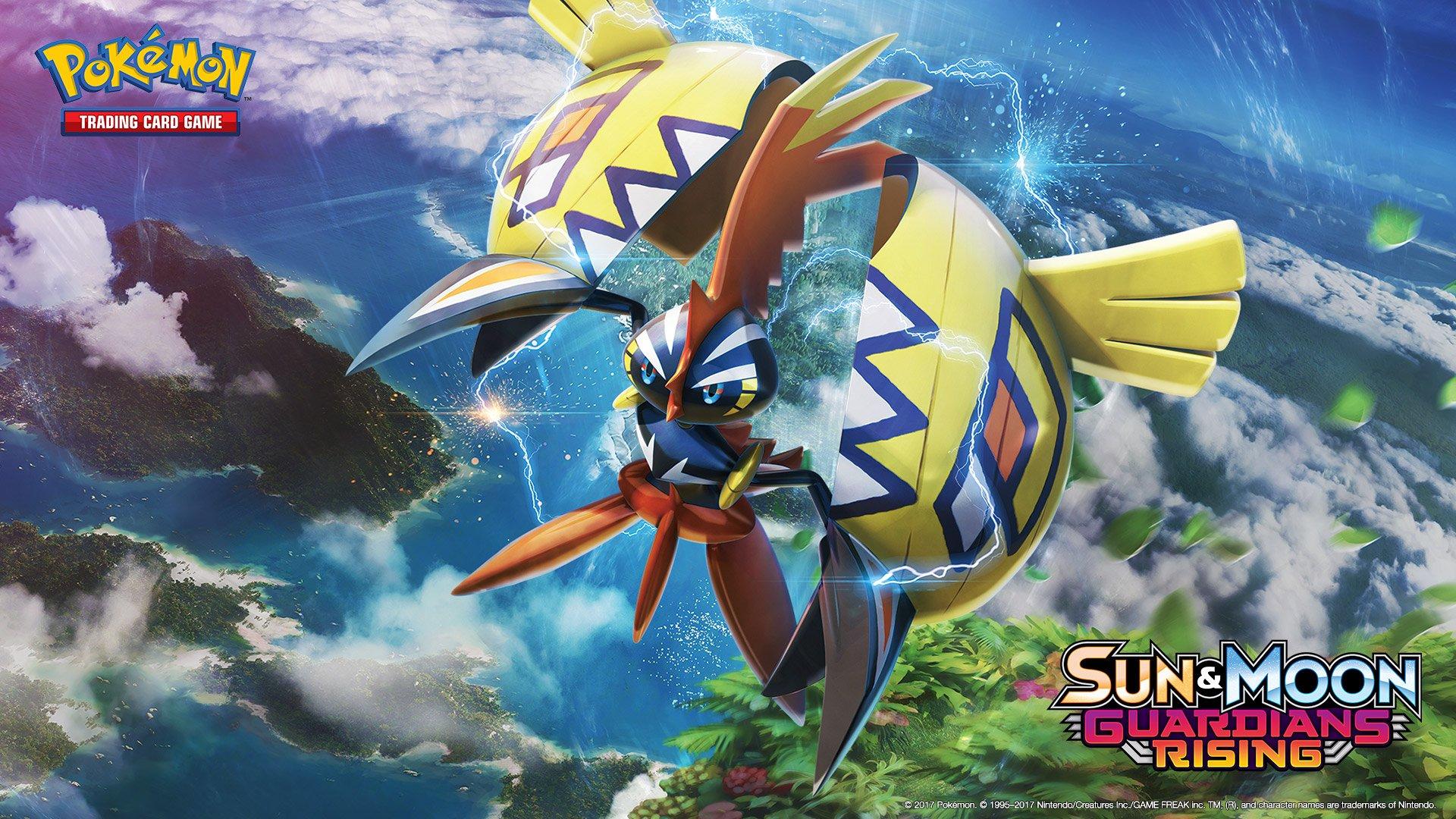 """Pokékalos on Twitter: """"Fonds d'écran Pokémon - Soleil et Lune - Gardiens Ascendants (suite)…"""