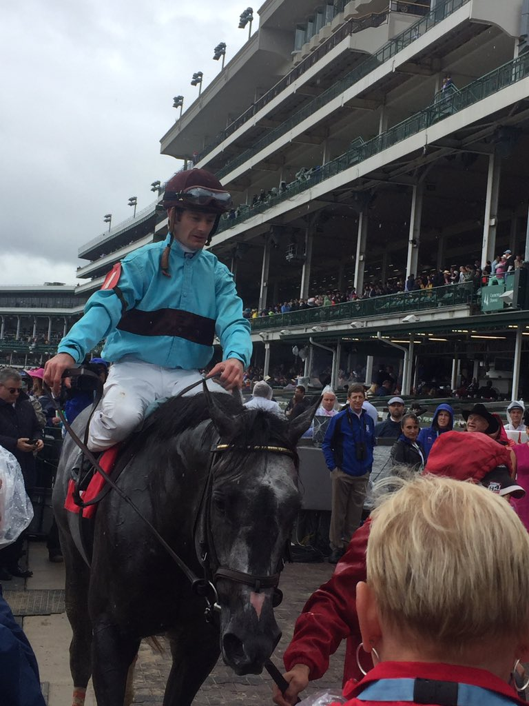 Bird Song standing tall after his #Alysheba win on #KyOaks day.<br>http://pic.twitter.com/uknpR0J4H8