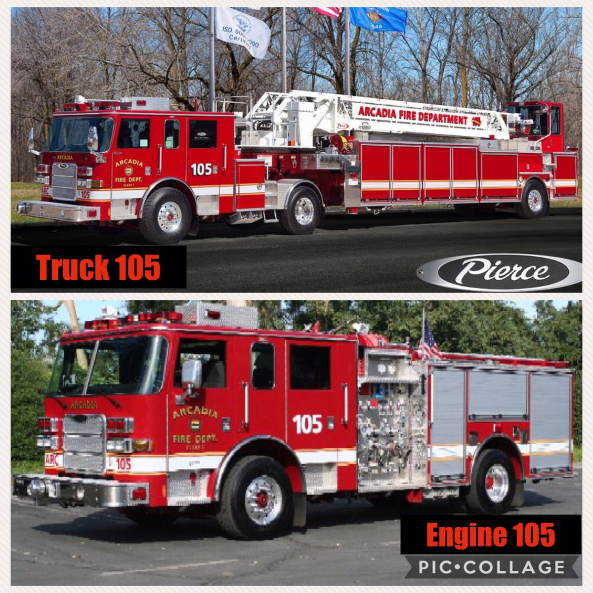 Arcadia Fire Dept On Twitter Funfactfriday Is There A Difference Between Engine Truck Yes Usually Engines Have Pump Trucks An
