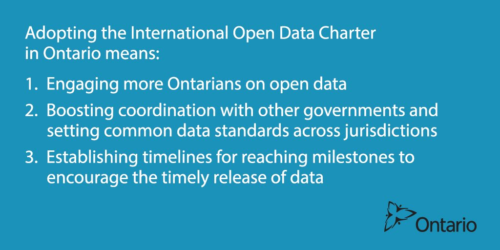 We want to hear from you! Tell us where you think we should focus our efforts in adopting the #opendatacharter #opengov #openON #GOOD17 https://t.co/p1fbKtcyZd