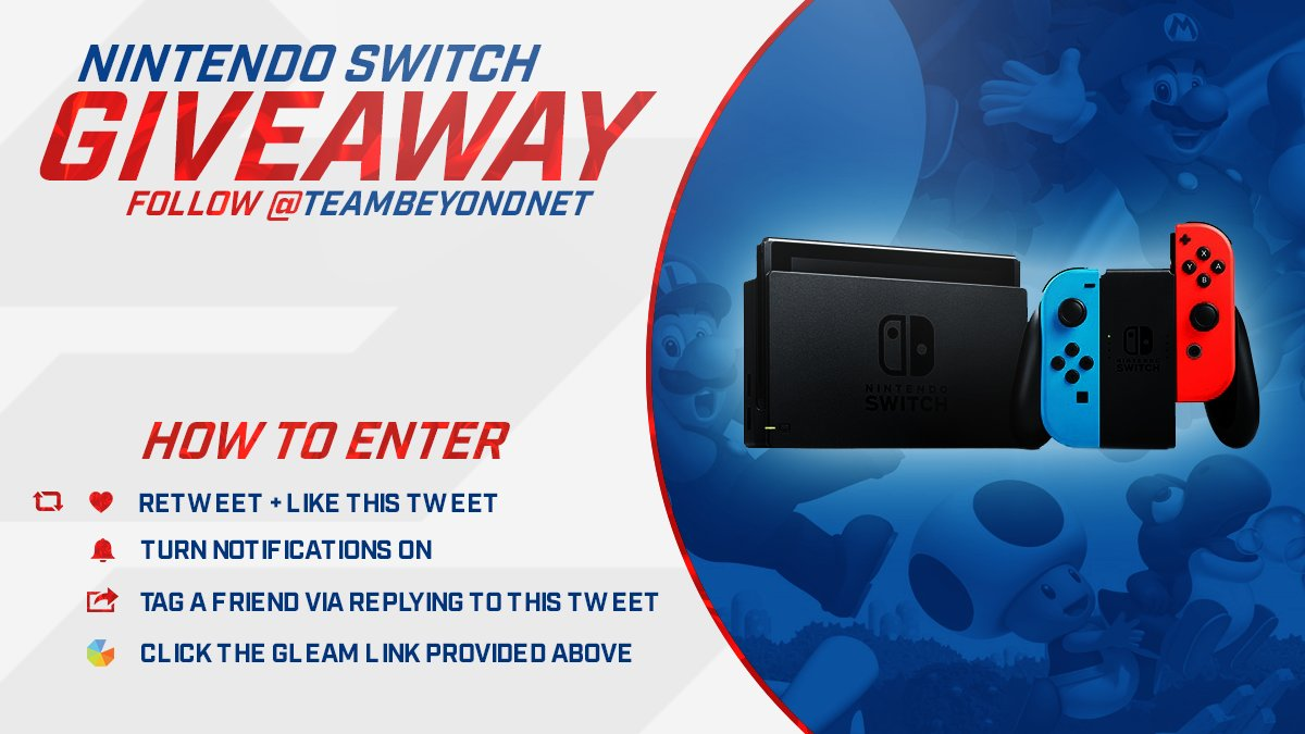 #NintendoSwitch #Giveaway! -Tag Your Friends -Turn Notifications On RT & Enter Here: https://t.co/UdwP7aX2Fw