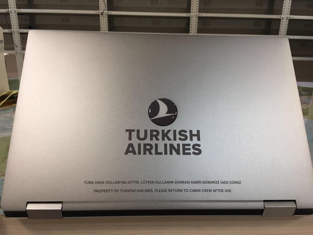 THY ABD ve İngiltere Uçuşlarında Laptop Dağıtacak
