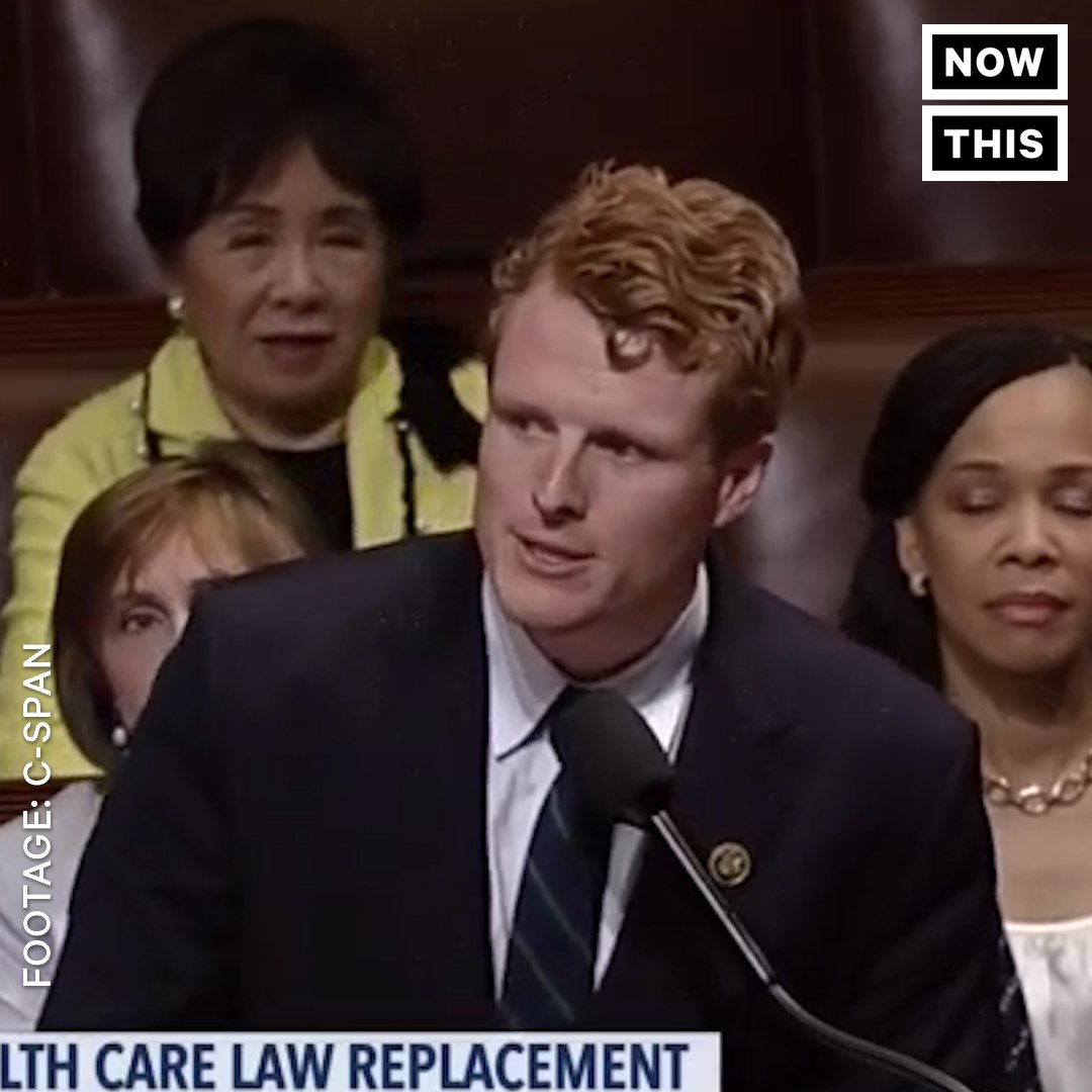Rep. Joe Kennedy had some choice words for Paul Ryan about the GOP health care bill