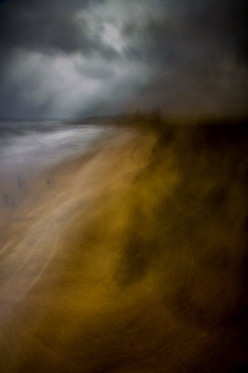 New work - A Walk in the Storm. Dunstanburgh. https://t.co/THZOEZlrBB