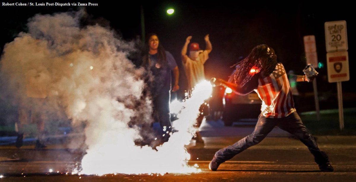 Edward Crawford, seen in iconic Ferguson protests photo, has been found dead.