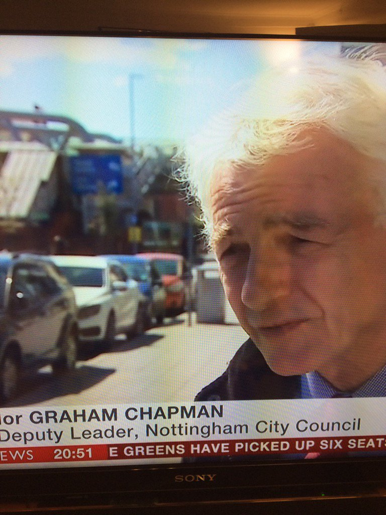 Gr8 @BBCNews piece featuring long-standing @LP_localgov Board member @cllrgc about air pollution in #Nottingham