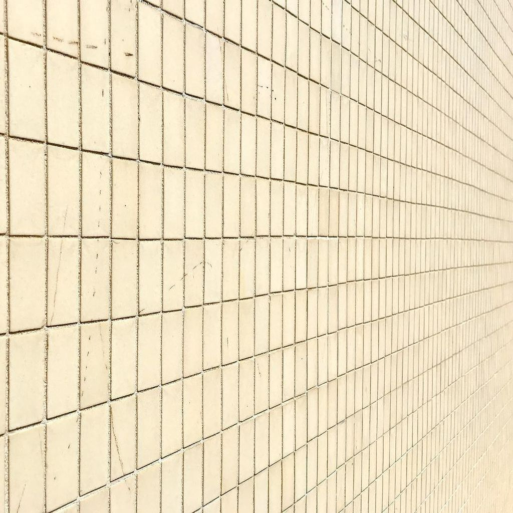 Unglazed ceramic tiles on the exterior of Loeb Hall, built 1956. #mizzou #midmodmizzou #midcentury #tile #tilework #mcm #midcenturymodern #…<br>http://pic.twitter.com/x1ZSMvvh9u