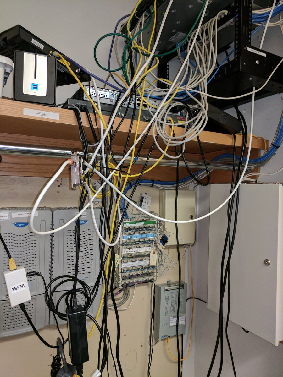 Wiring Closet Messy Guide And Troubleshooting Of Diagram Home Dnsnetworks On Twitter What Do The Say About You Are Eat Rh Com Nightmare Network