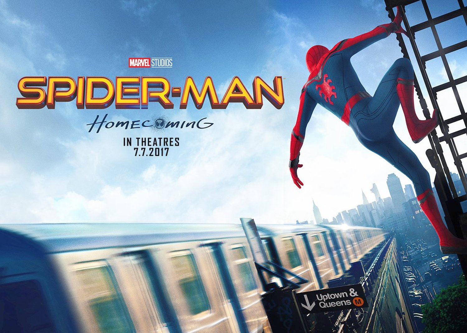 New Spider-Man: Homecoming Banner Revealed
