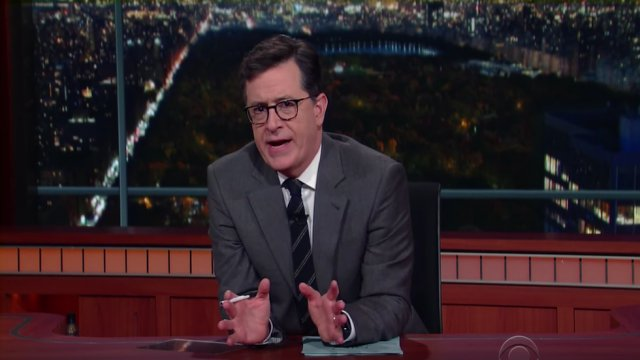 FCC launches investigation into Stephen Colbert's Trump insults: https://t.co/0jbFl87YbL https://t.co/JpbdMllwxx