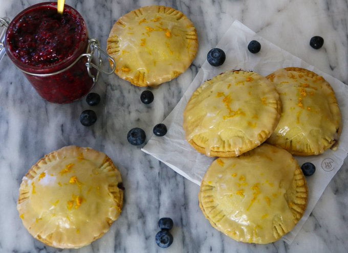 Vegan Triple Berry Hand Pies