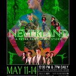 """Like the ticking crocodile, time ticks closer to """"Neverland - A Peter Pan Origin Story"""" by CircusWest! Info & Tix:  https://t.co/MisIzWzMCQ"""