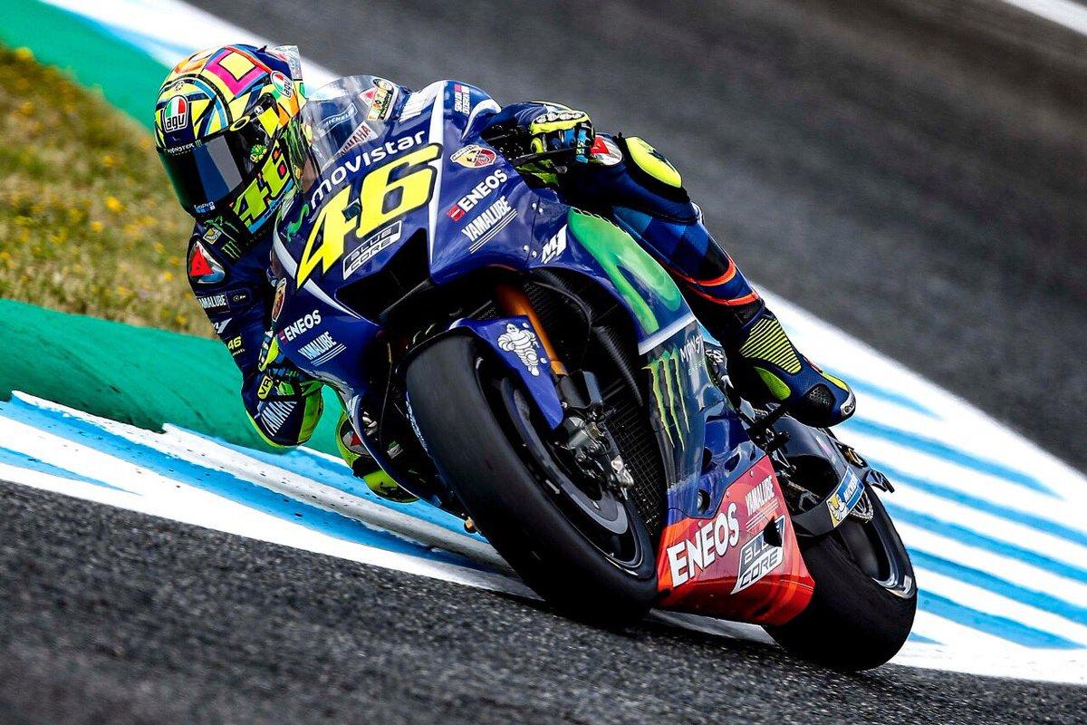 Valentino Rossi Kecelakaan Motor
