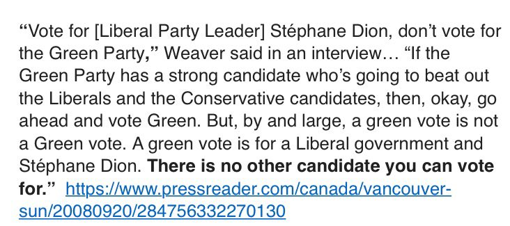 Andrew Weaver supported strategic voting in 2008 federal election. https://t.co/pr8UUbKypQ #bcelxn17 https://t.co/66PckIS1lN