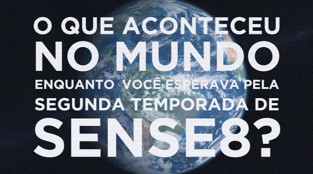 O mundo mudou MUITO nos últimos dois anos. Mas cá estamos de novo, reconectados ao cluster. #sense8 #SENSE8ISBACK