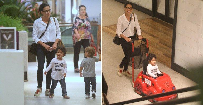 Carolina Ferraz curte passeio com a filha caçula --> https://t.co/Kzoz7hnkte